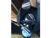Howson Golf Clubs and bag for sale