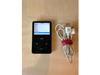 30GB Apple iPod with Video Playback Black 5th Generation with Case