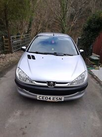 Peugeot 206 fever immaculate condition inside and out 2 lady owners s from new