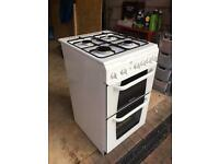HOTPOINT CREDA X153GW Gas Cooker with Hob