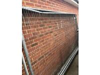 Heras fence panels and feet and clips
