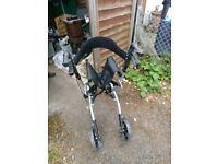 Brand New Mobility Rollator with bag and seat