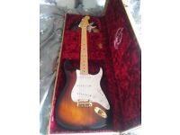 Fender 2014 60th USA Comemorative Stratocaster Mint Condition Never Gigged