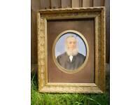 Vintage painting frame.