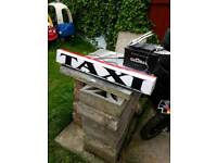 taxi sign £40