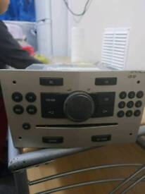 Vauexhall Astra car CD player radio