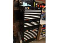 Halfords Industrial Tool Chest + Tools