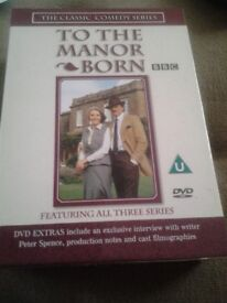 To The Manor Born DVD Complete Collection for sale.