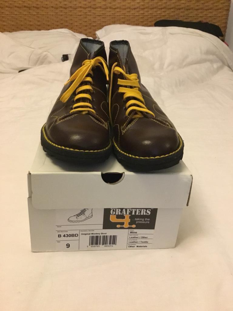 032ed3aa06f Original Grafters Monkey boots size 9 | in Roath, Cardiff | Gumtree