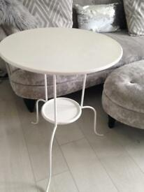 X2 off white bedside tables