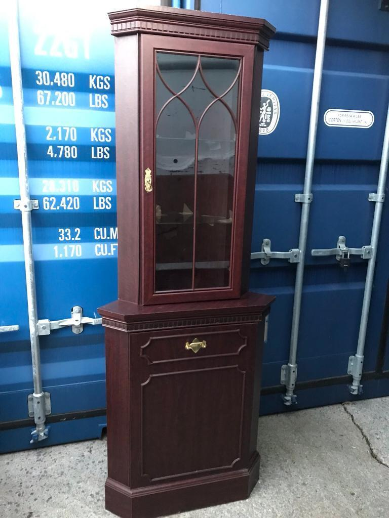 Corner display cabinet FREE DELIVERY PLYMOUTH AREA