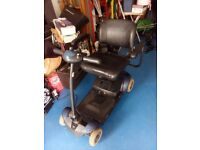 Mobility scooter colour blue and black good condition two new batteries fitted