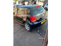BREAKING 2013 Vw polo 1.4 match edition 5dr black