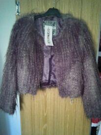 New Look furry jacket