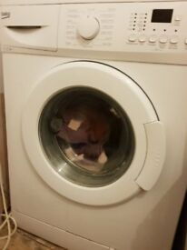 Beko washing machine a year old excellent condition .Hardy used