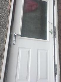 External back door (persimmon house)