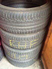 Jaguar XF - 4 Nokian Winter Tyres & 1 Dunlop Tyre - 245/40/R19 - Grab Yourself A Bargain!