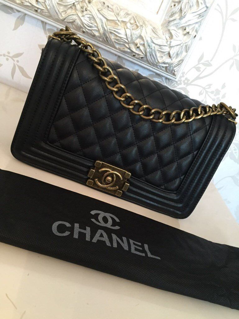 Used Michael Kors Handbags >> chanel bag chanel boy bag boy bag quilted chain bag | in ...
