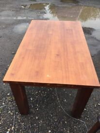 Dinning table and 4 chairs. £60