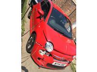 Fiat 500s 2014 salvage damage repairable 33k