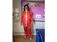 Red Sgt Peppers Outfit