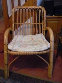 Sturdy Cane Chair - Good Condition