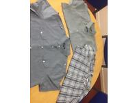Men's short sleeve shirts xxl
