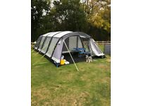 Kampa Croyde 6 Air Pro - Used twice, as new condition