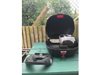 Givi top box and holder