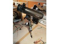 Celstron Nexstar 130SLT 130mm Reflector Telescope with GOTO and Skyalign