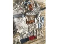 0 to 3 month old boys clothes bundle
