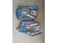 Oxford 60L panniers blue