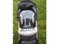 Mothercare Trenton travel system, good condition, includes carry cot and car seat