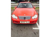 Mercedes Benz C CLASS Coupe C180 (Full Mercedes service history since new)