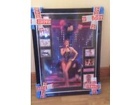 Kylie Minogue signed photo montage still in original wrapping