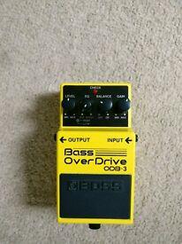 Boss Bass Overdrive OBD-3