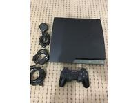 A full pack of PlayStation 3 with Screen and Games.