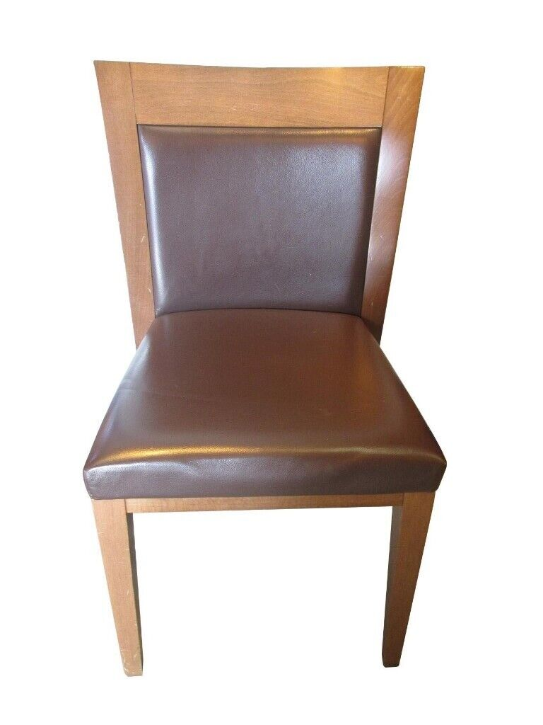 Fabulous Brown And Walnut Wooden Dining Room Chair In Portsmouth Hampshire Gumtree Download Free Architecture Designs Momecebritishbridgeorg