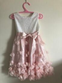 MONSOON Baby 3D Flower Dress (12-18 months)