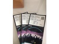 3 tickets for Anthony Joshua Vs Wladimir Klitschko