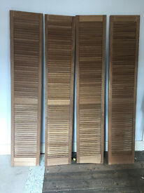 french wooden shutters