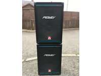 1 x pair of Peavey EuroSys 2 PA speakers