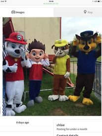 Paw Patrol Mascots