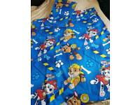 Paw patrol quilt and pillow