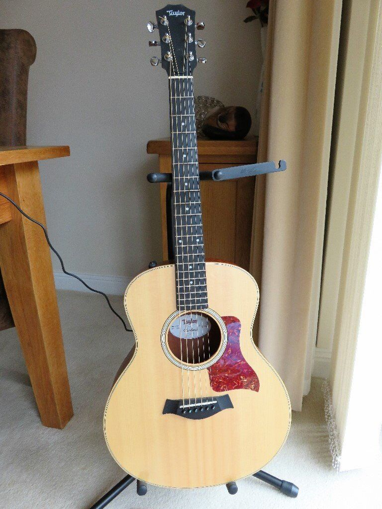 Taylor Gs Mini E Rw Quilted Saple Ltd Edition Electro Acoustic With Matching