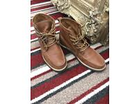 Next Men's Uk size 9, Eu 43. Tan Leather