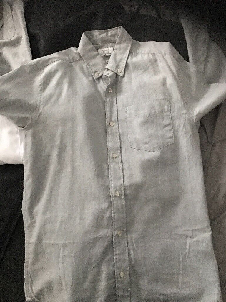 Grey Cotton Shirt In Stratford London Gumtree