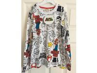 Brand New with tags SupeMario long sleeved tshirt