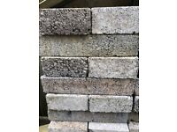 84 Dense Concrete Blocks - 440 x 215 x 100mm (supplied by Jewson)