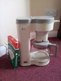Rowenta filter coffee maker.